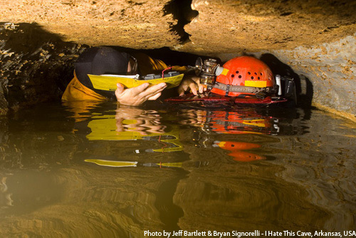 I Hate This Cave (Searcy County, AR, USA); Jeff Bartlett & Bryan Signorelli